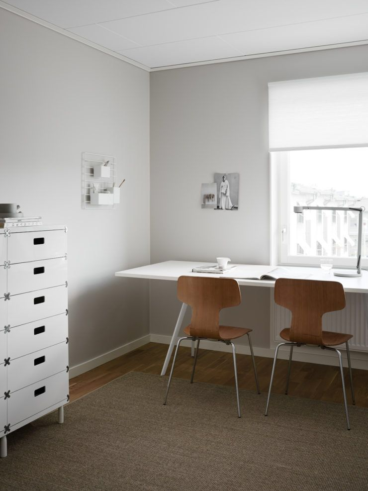 Scandinavian Study Room: Home Office Furniture, Home