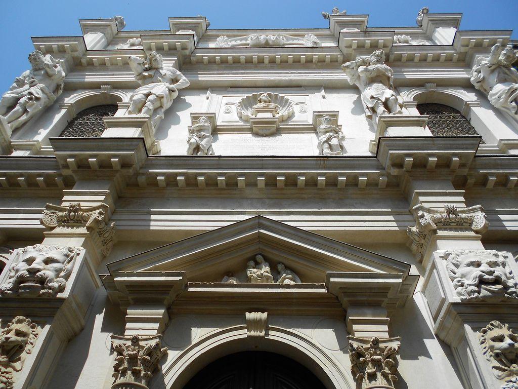 Santa Maria dei Derelitti - Ospedaletto - Baldassare Longhena - Venezia, Italy  | Photo by Fabrizio Pivari on Flickr | facade
