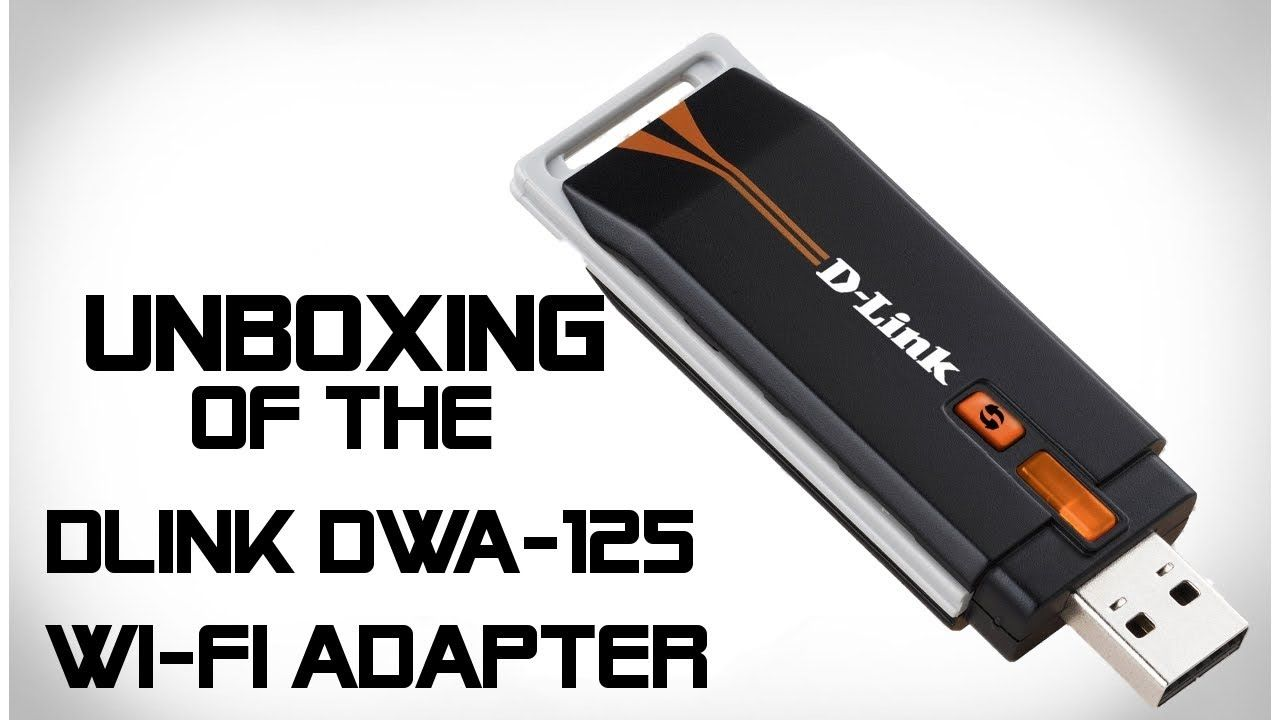 D-link dwa-125 wireless 150 usb adapter dwa-125 b&h photo video.