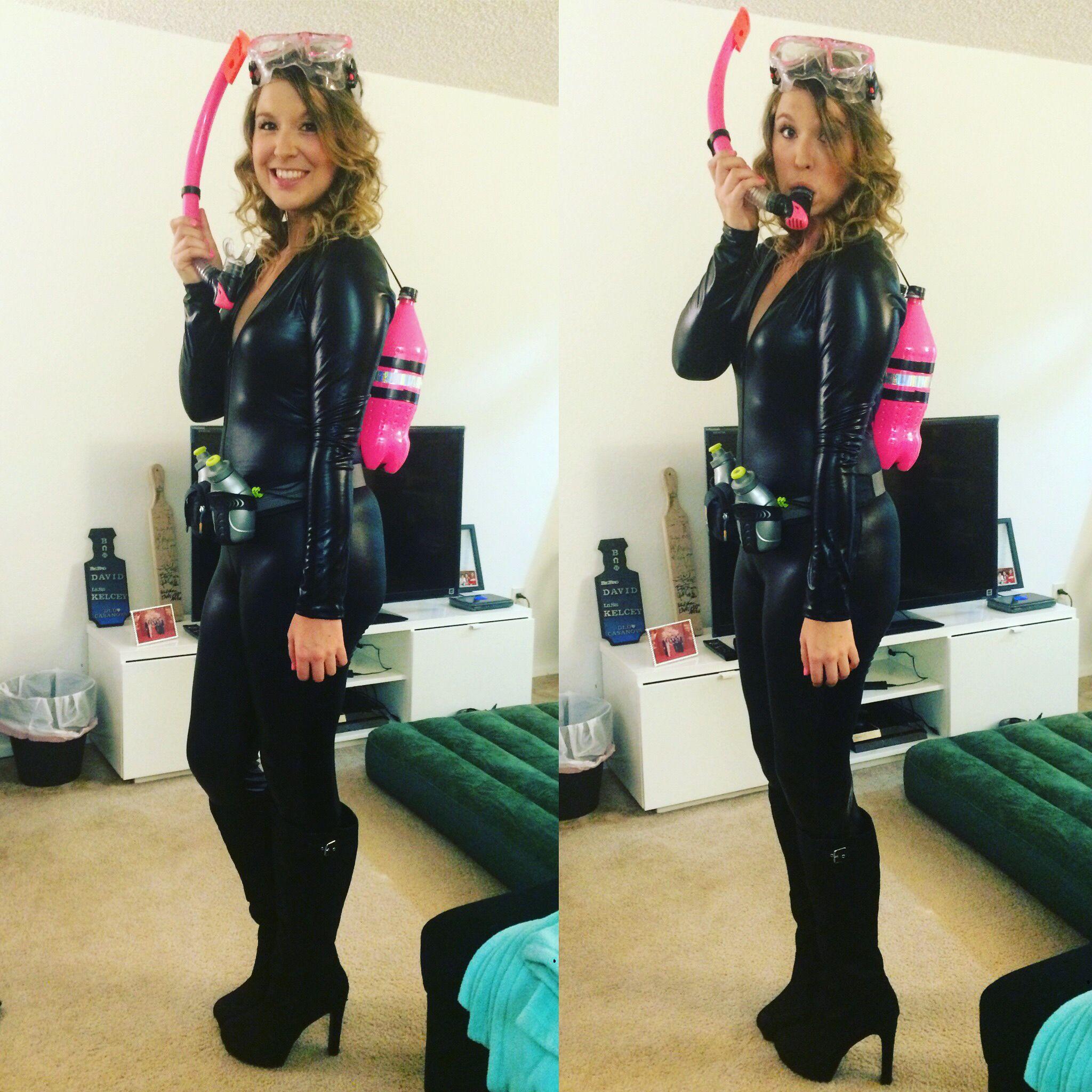 scuba diver adult halloween costume easy halloween costume diy