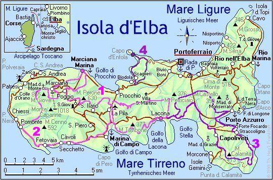 Cartina Elba Isola.Isola D Elba Cartina Cerca Con Google Parlantes Fotos