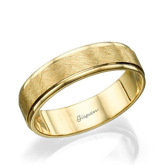 Wedding Band Wedding Ring Mens Wedding band by Gispandesigns