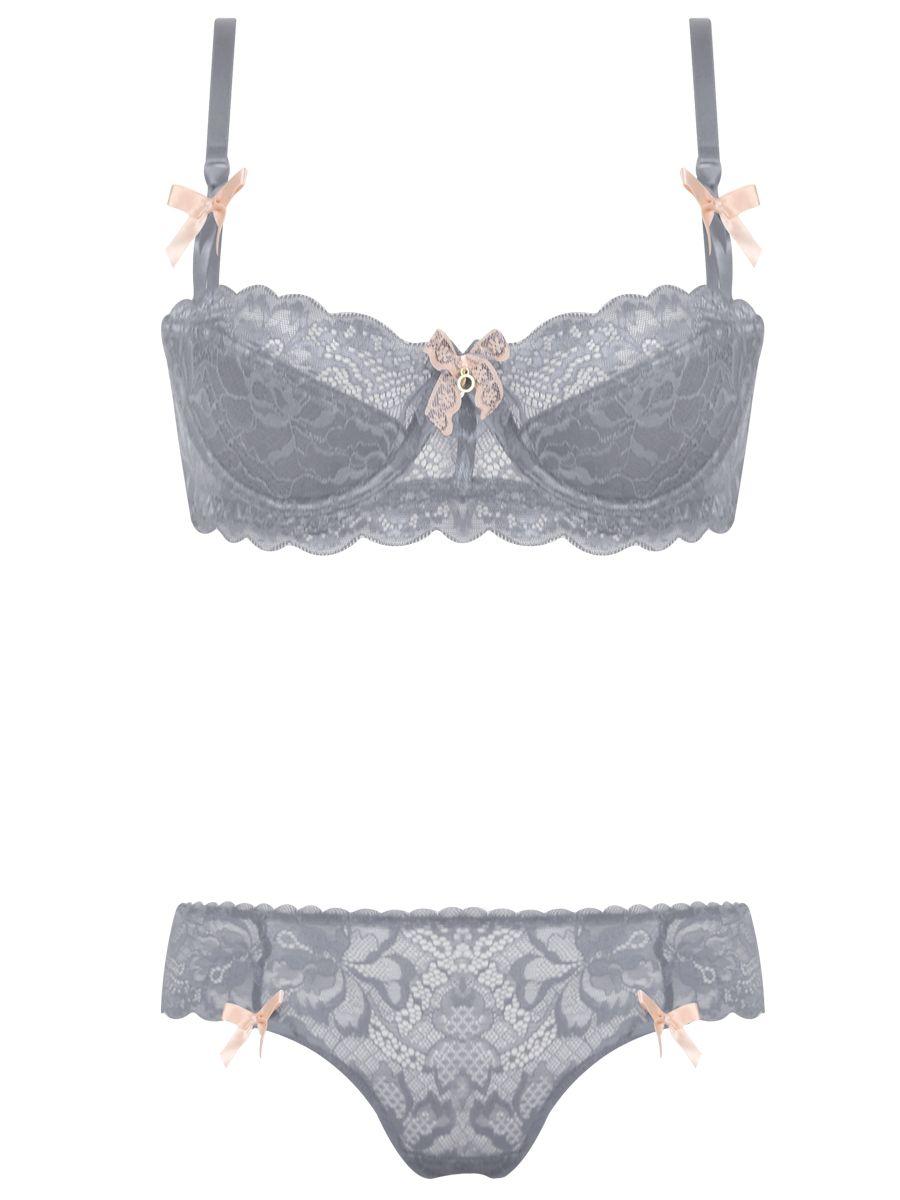 Burvogue Plus Size Lace Intimate Underwear Thin Bra Sets Lingerie ... 04faec3b9