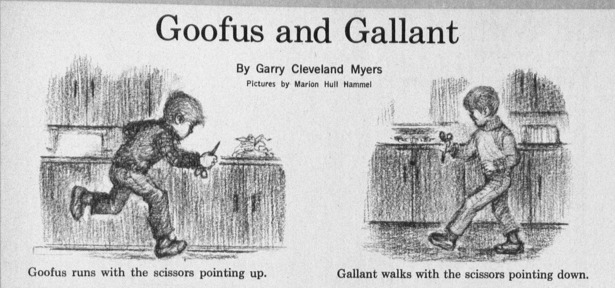 e36dd639636ed6325d62b5671389a0e8 goofus and gallant a tale of two protagonists highlights magazine