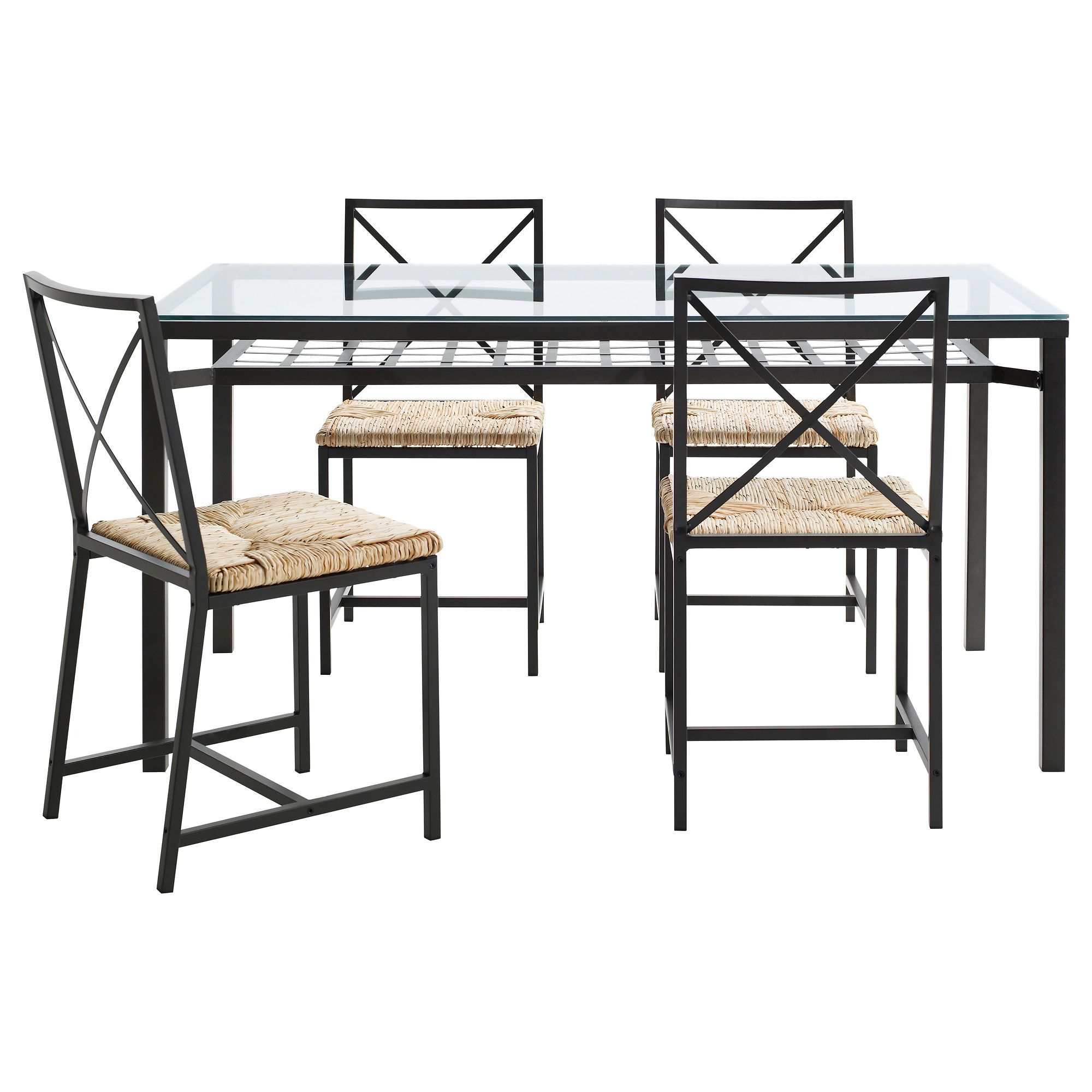 Meubles Et Articles D Ameublement Inspirez Vous Ikea Glass Dining Table Dining Table Chairs Ikea Dining Table Set