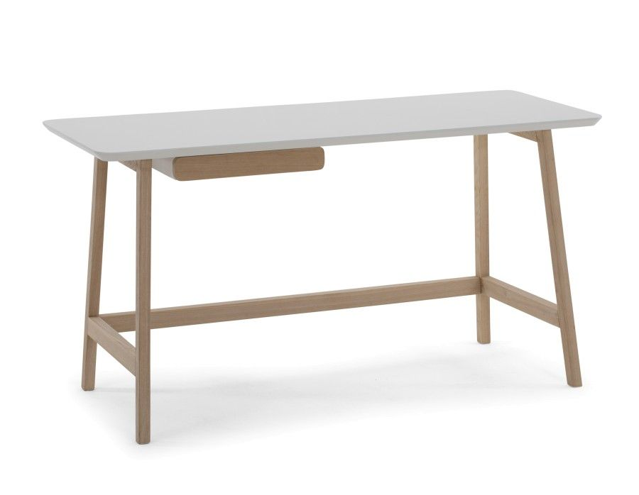 Blum white and natural desk cm bureau desk modern desk
