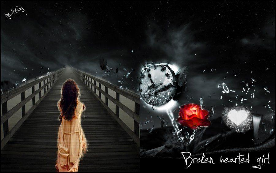 broken heart wallpapers of girls BROKEN HEARTED GIRL by