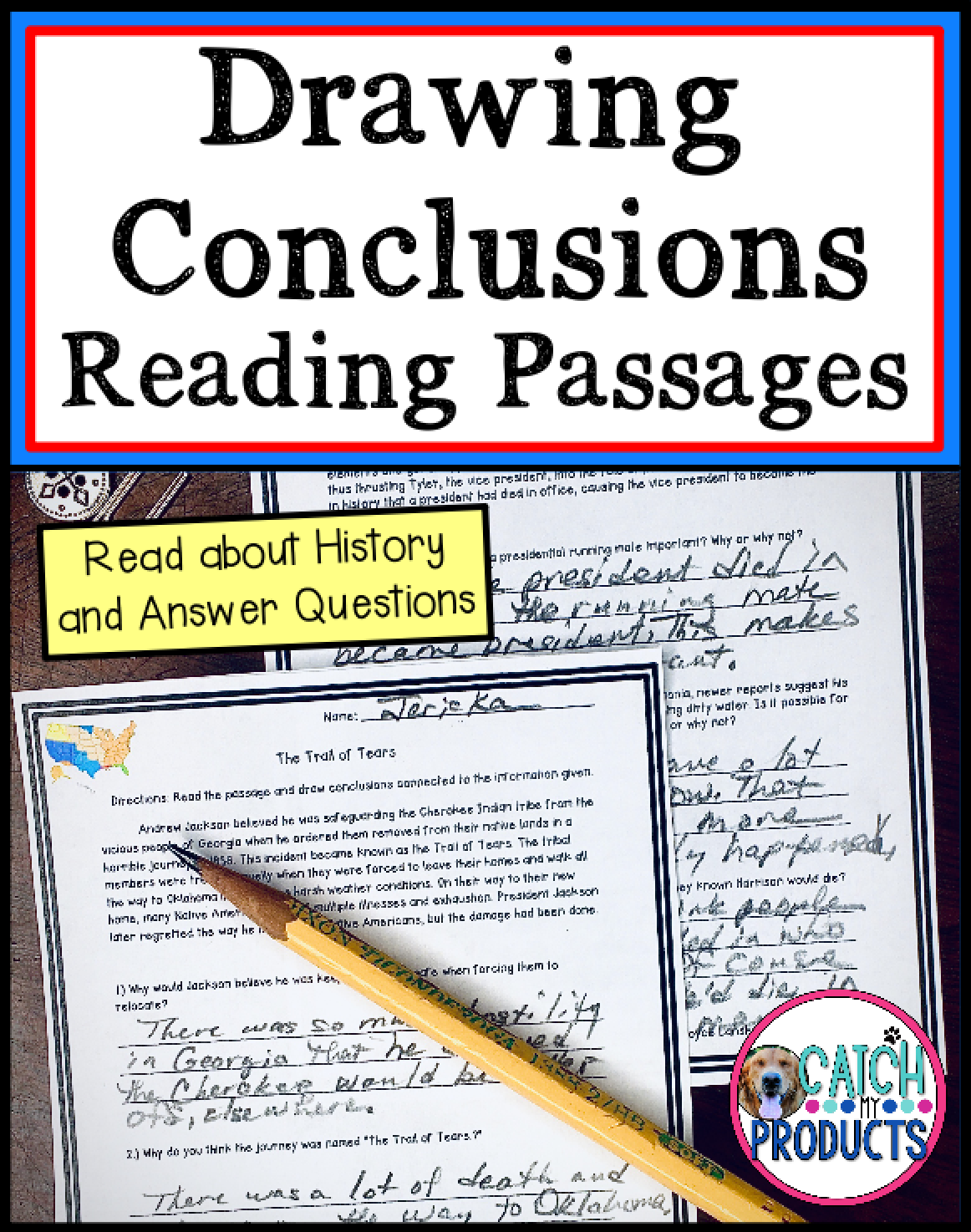 Presidents Day Activities Drawing Conclusions Reading