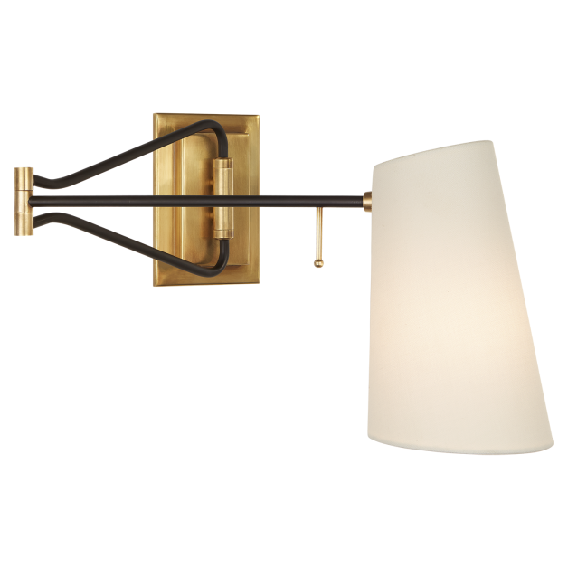 Aerin by circa keil swing arm wall light sconces pinterest aerin by circa keil swing arm wall light mozeypictures Choice Image