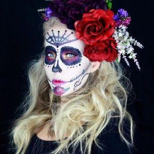 sugar skull makeup stepstep sugar skull makeup