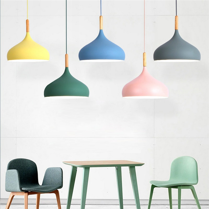 Modern Pendant Light Aluminum Macaron Lamp Home Adjustable Light Bedroom Living Room Light Qm305 In 2020 Pendant Lamps Bedroom Pendant Light Kids Room Lighting Fixture