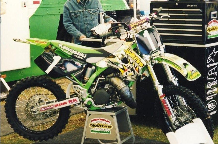 125 Kx Mickael Pichon Pro Circuit Splitfire Chrome Dirt Bikes