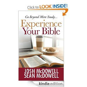 Enjoying reading this new book from Josh and Sean McDowell