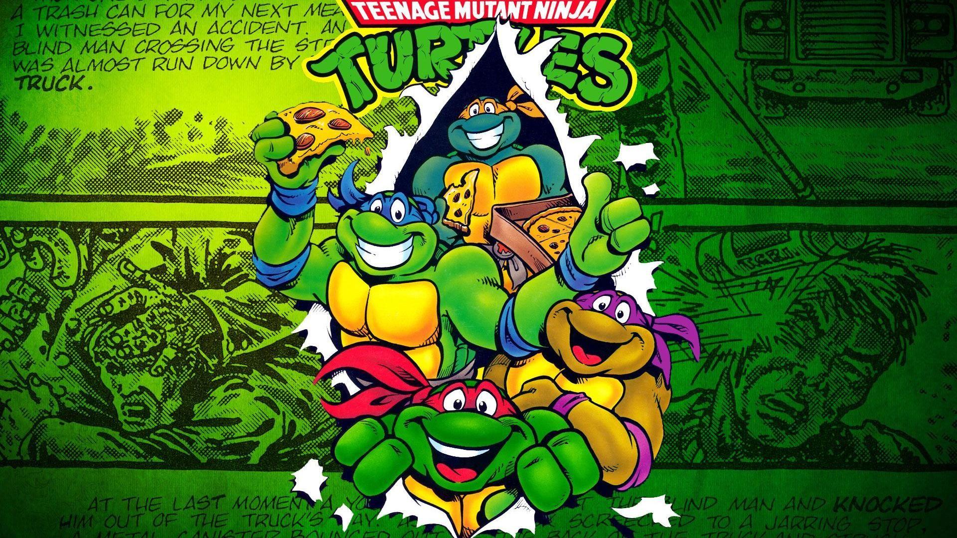 Ninja turtle wallpaper