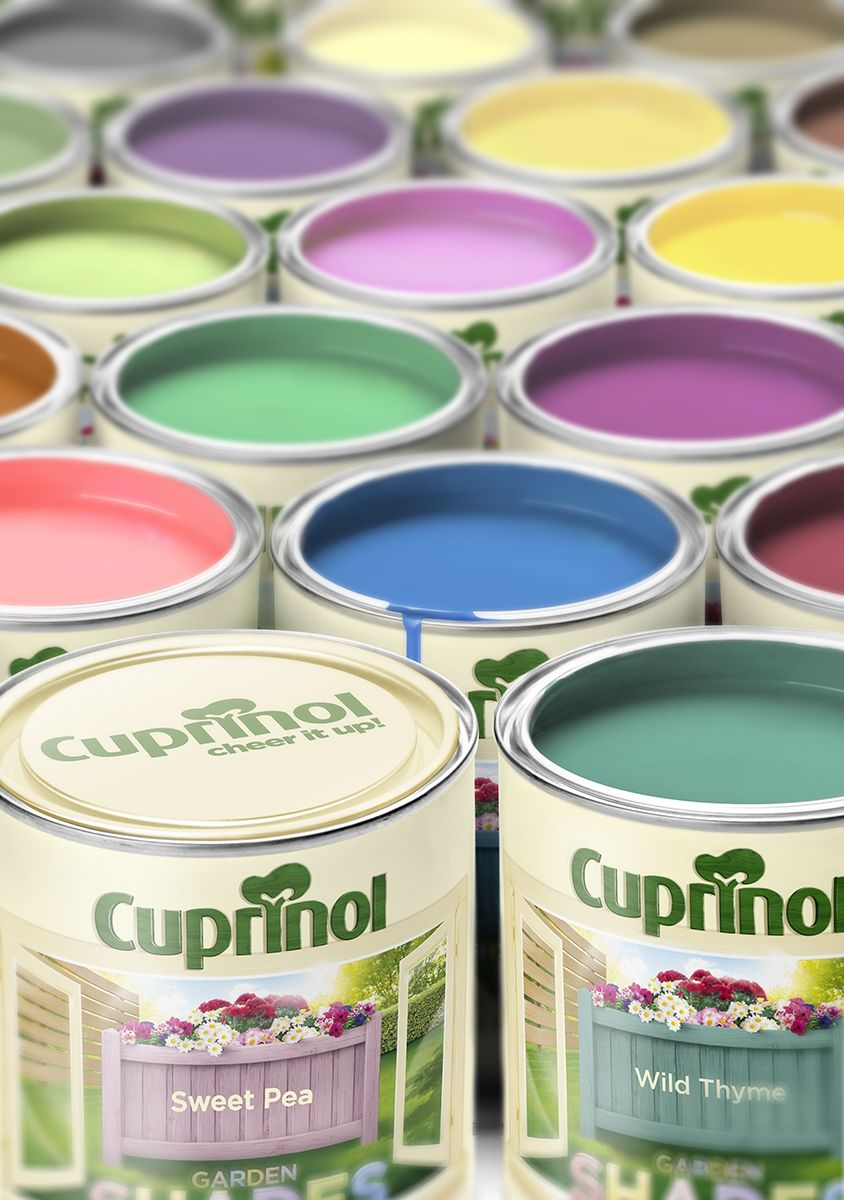 Cuprinol Range rebranding and repositioning Springetts