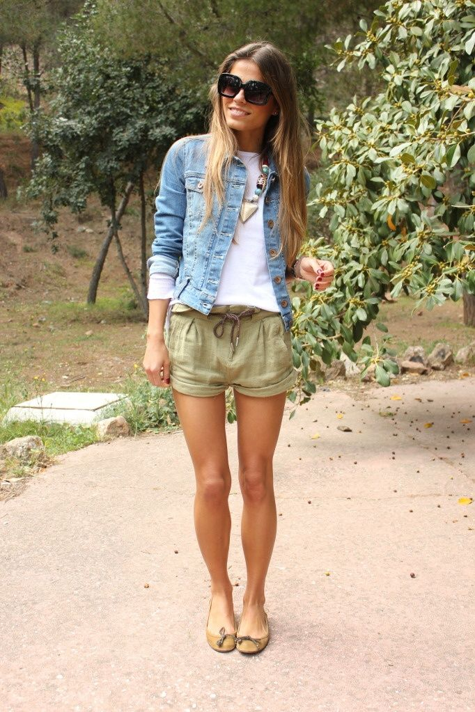 17 Best images about Denim Jacket - how to wear it on Pinterest ...