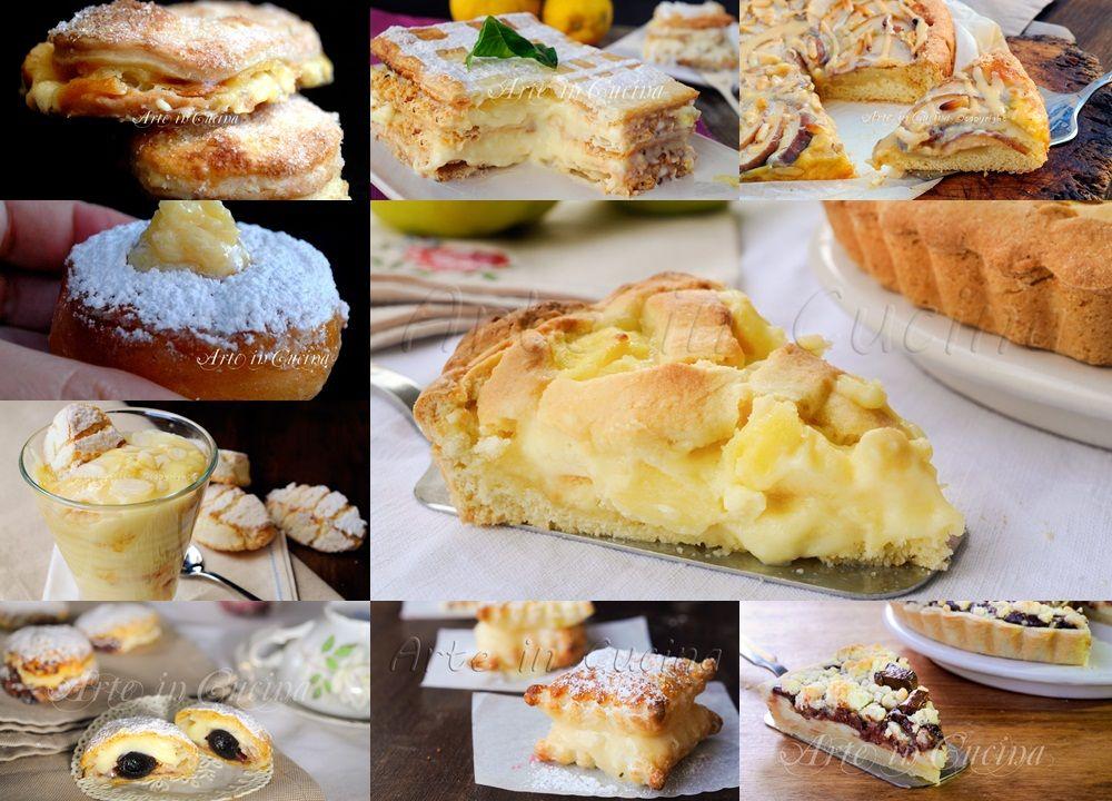 Dolci alla crema pasticcera ricette veloci e facili for Ricette facili dolci