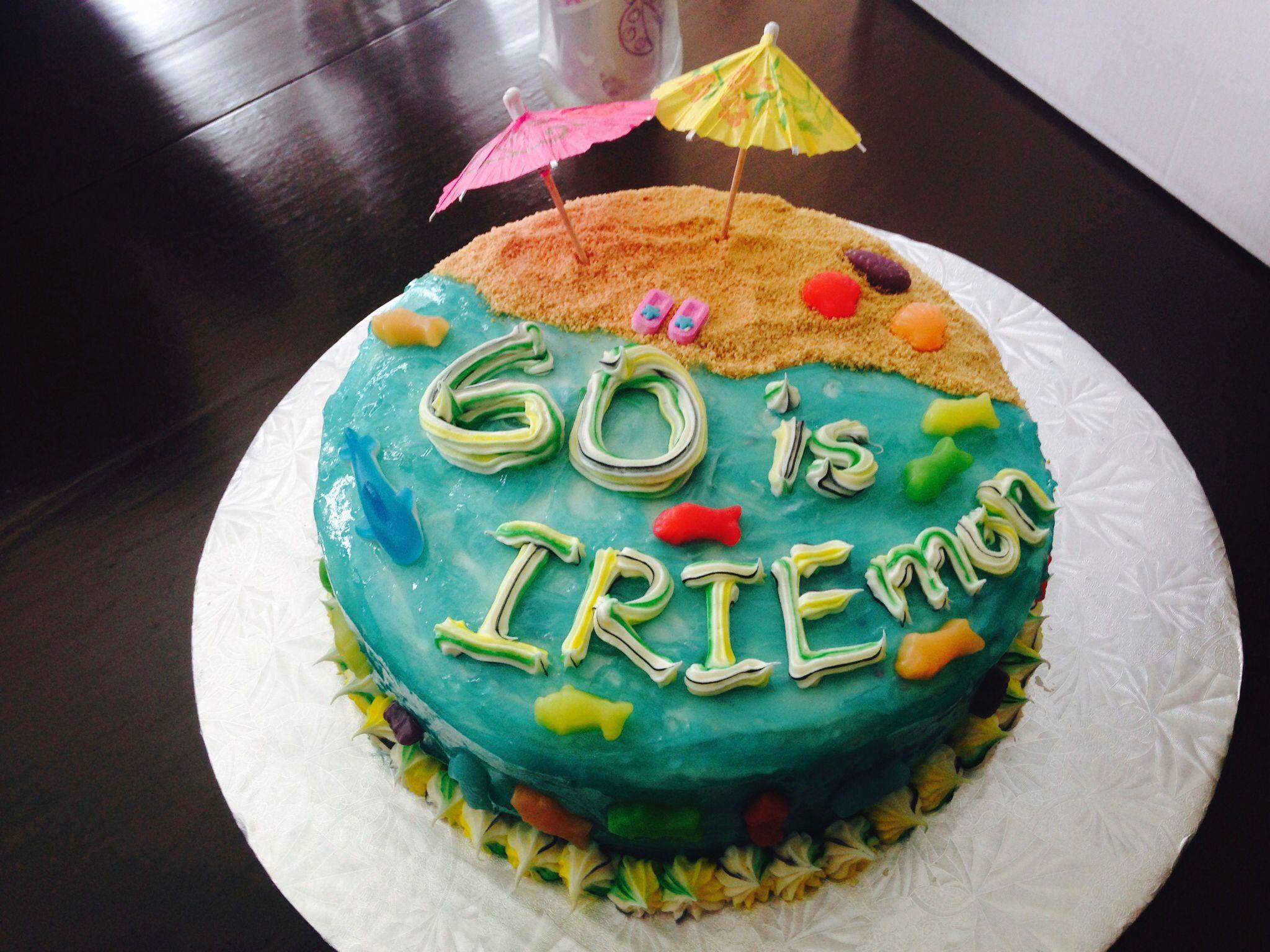 60th Birthday Cake Jamaica Theme My Creations Pinterest 60th