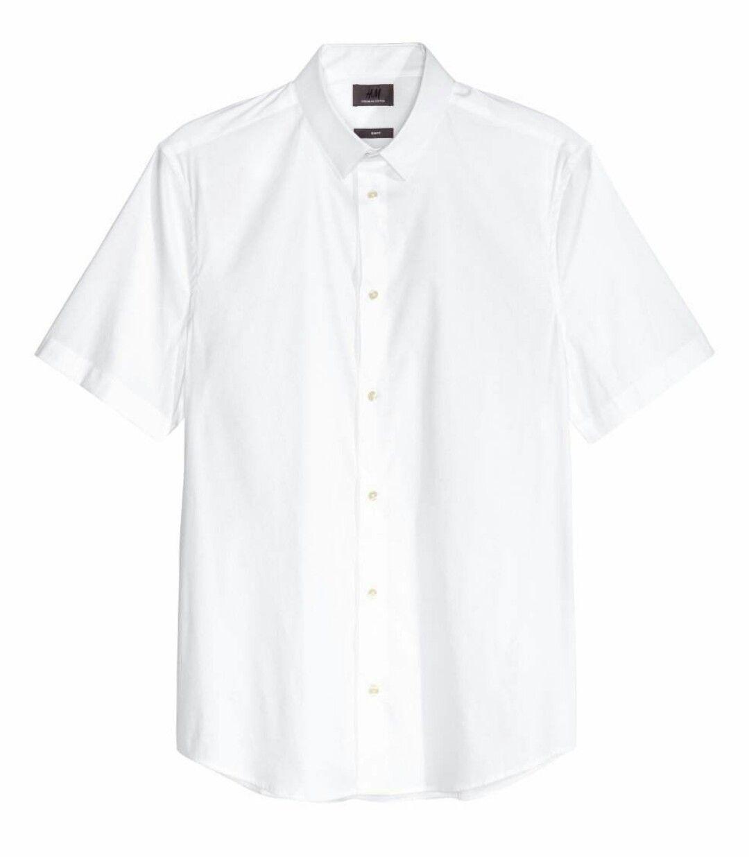 Hm short sleeve slim fit strech premium cotton dress