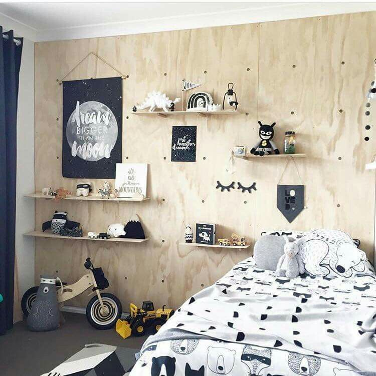 Boys Bedroom Pegboard Wall Kids Rooms Inspo Boys Bedroom Decor