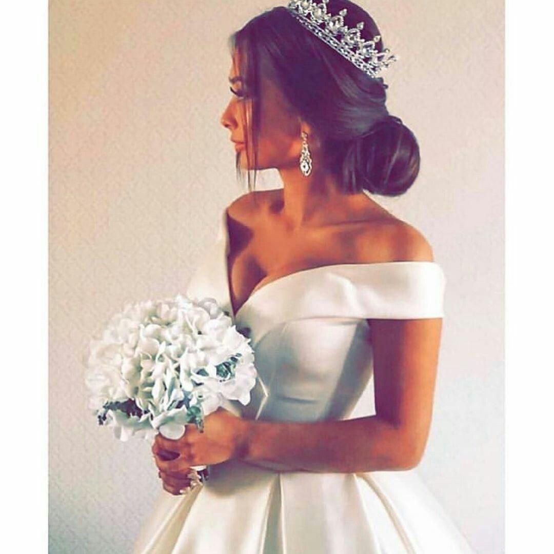 Pin/Samiksha   Ball gowns wedding, Chic bridal dress ...