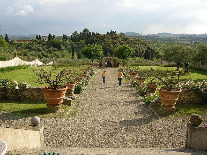 Bagno A Ripoli Firenze Villa Medicea Di Lilliano Giardino E