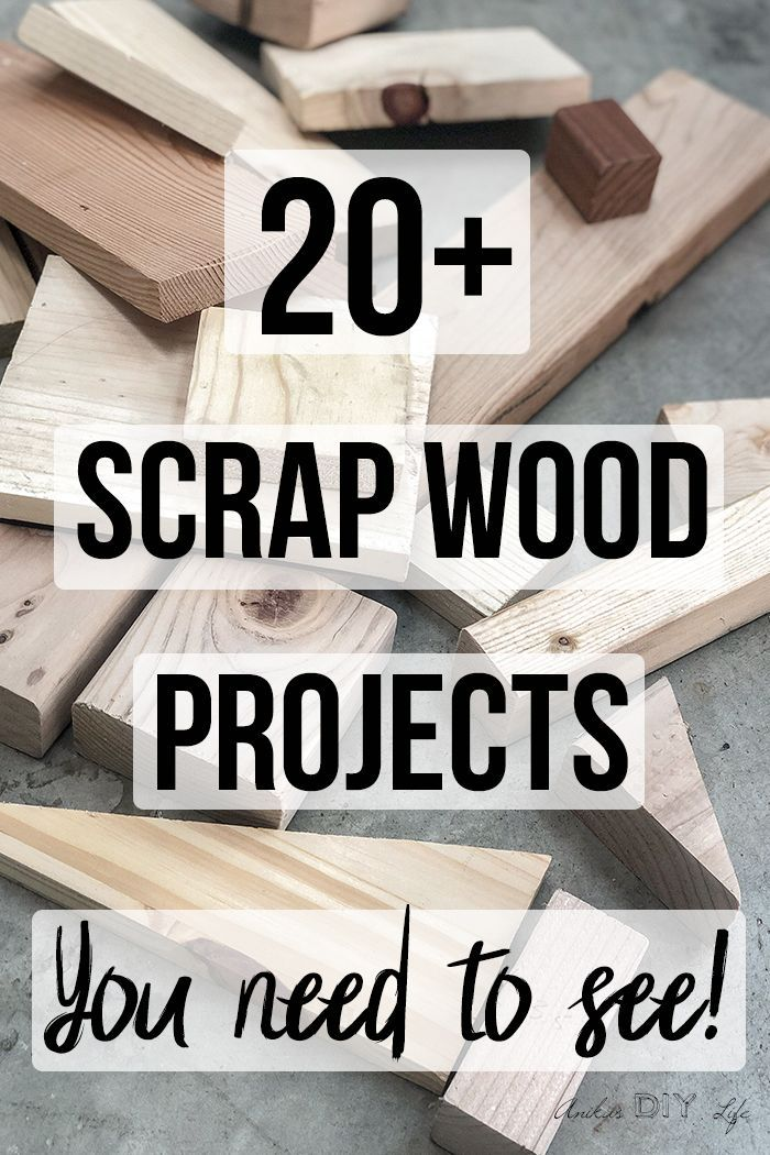 Simple Scrap Wood Projects For Beginners Crafts Scrap