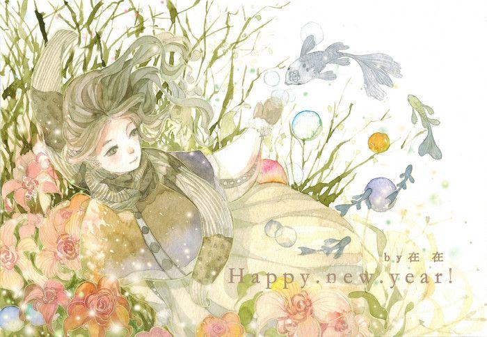新年贺图-从圭__涂鸦王国插画