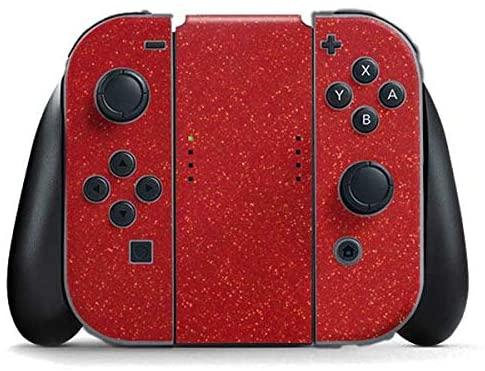 Amazon Com Skinit Decal Gaming Skin For Nintendo Switch Joy Con Controller Originally Designed Diamond Red Glitter Desi Red Glitter Nintendo Switch Nintendo
