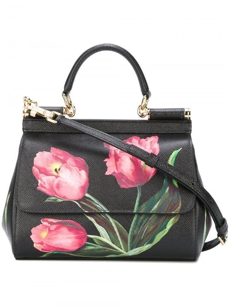 DOLCE GABBANA tulip print bag NEW CROSS-BODY handbag MISS SICILY  fashion   clothing  shoes  accessories  womensbagshandbags (ebay link) ddceb9f1b4eef