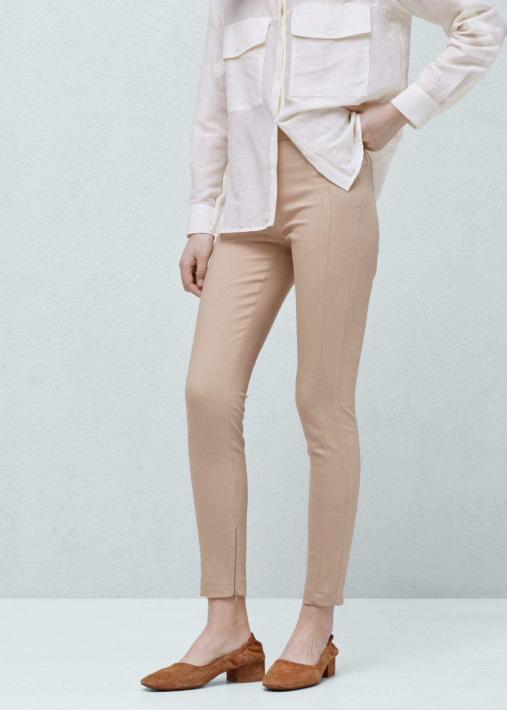 discount collection discount free delivery Slim-fit cotton-blend trousers - Women | Fashion Fiend ...