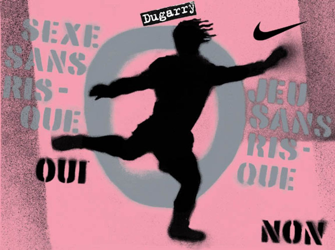 Read more: https://www.luerzersarchive.com/en/magazine/print-detail/nike-1089.html Nike Yes to Safe Sex. No to Safe Soccer. Tags: Wieden + Kennedy, Amsterdam,Ghislaine de Villoutreys,Edwin Vollebergh,Olivier Courtemanche,Nike