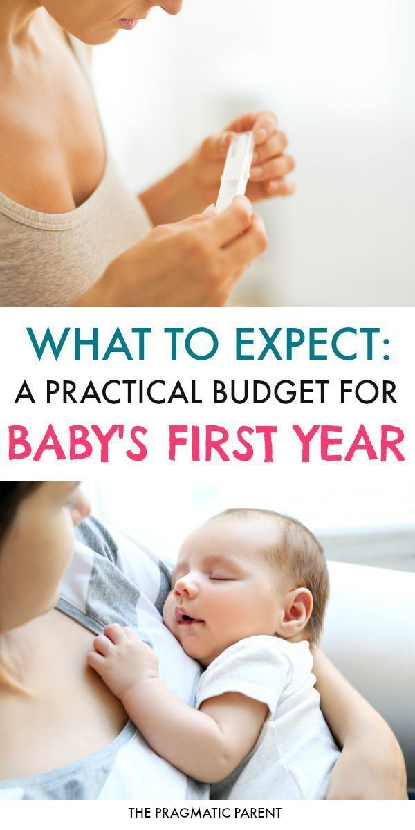 Baby on a Budget: Budgeting for the 1st Year of Baby Costs ...