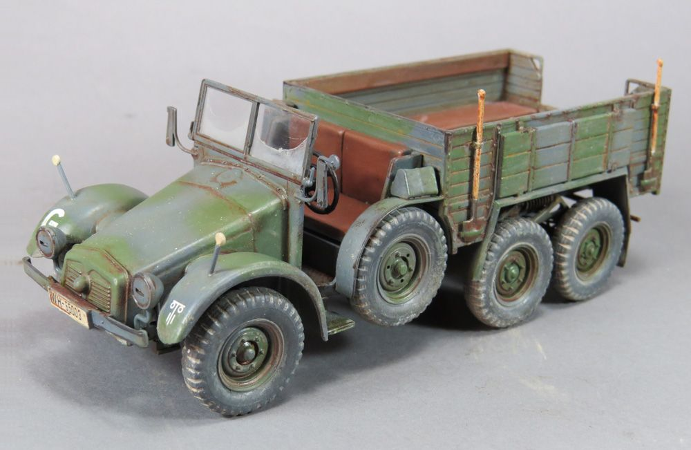 Krupp Protze Kfz.70 This is the Tamiya kit in 1/35th scale