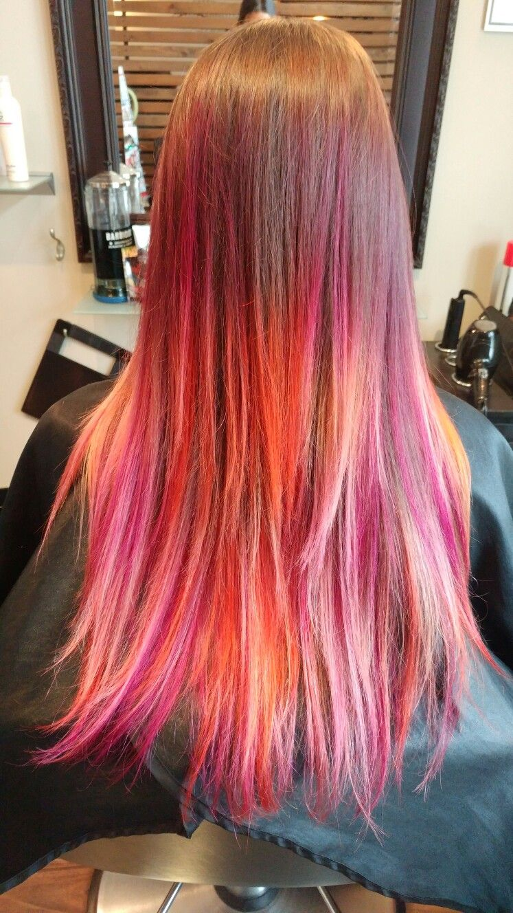 Mermaid hair unicorn mermaid hair chic trendy healthy joico