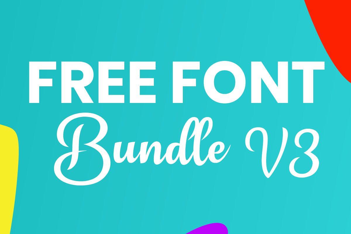 Download Free Font Bundle V3 | Fabrica, Proyectos