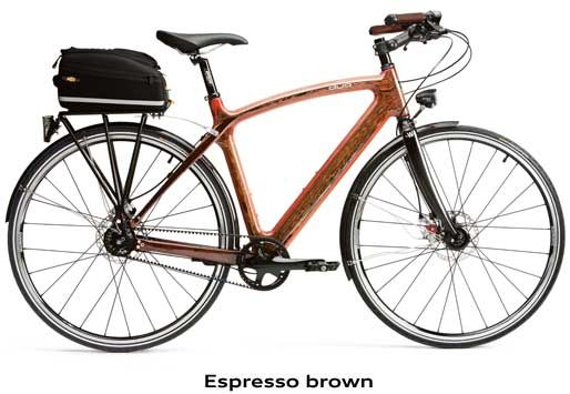 Duo City By Audi And Renovo Hardwood Bicicleta De Madera Diseno