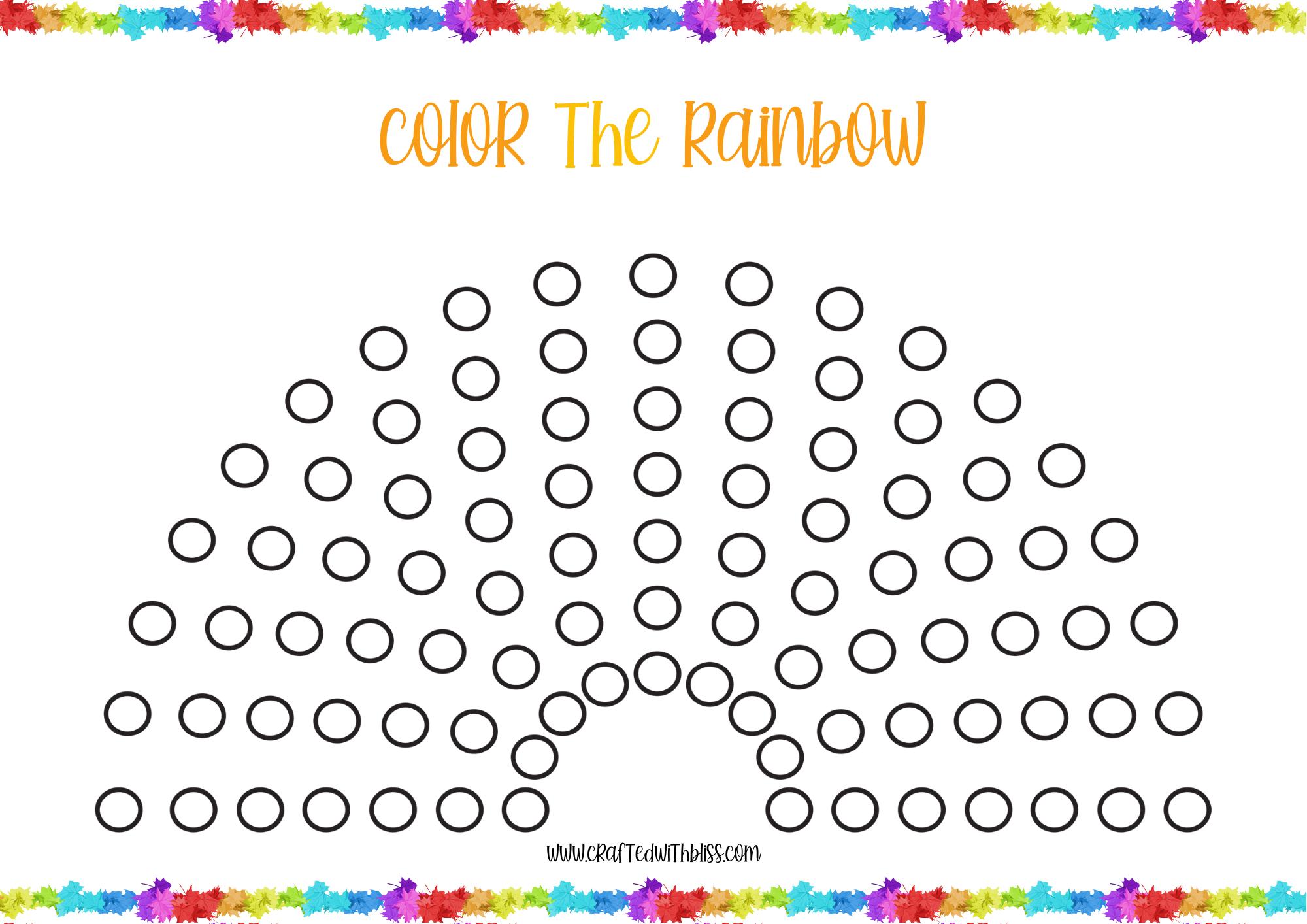 Rainbow Printables Rainbow Printables For Preschoolers Etsy In 2021 Rainbow Activities Rainbow Lessons Activity Sheets [ 1414 x 2000 Pixel ]