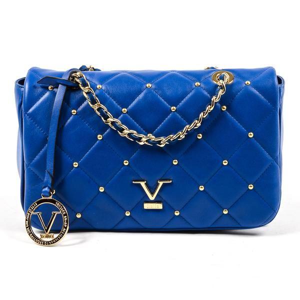 f0ec2f544c V 1969 Italia Womens Handbag Blue MUMBAI