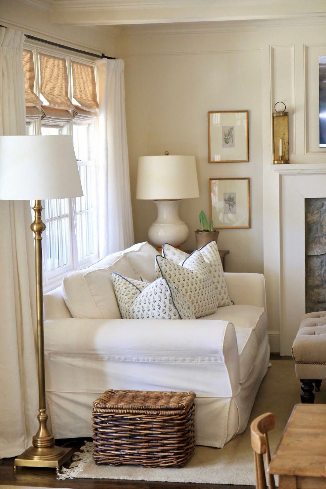 Last Week I Did A Little Pre Spring Freshening Around Our House I Can T Bring Myself To Write Winter Bu Home Decor Living Room Green Farm House Living Room Around my living room