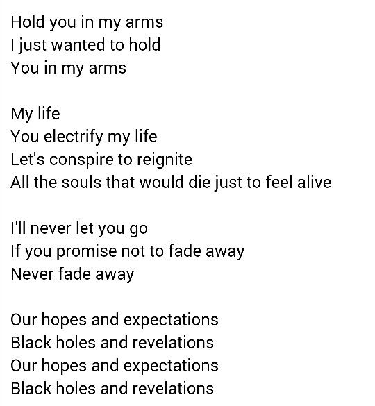 Starlight Muse Let It Be Songs Feelings