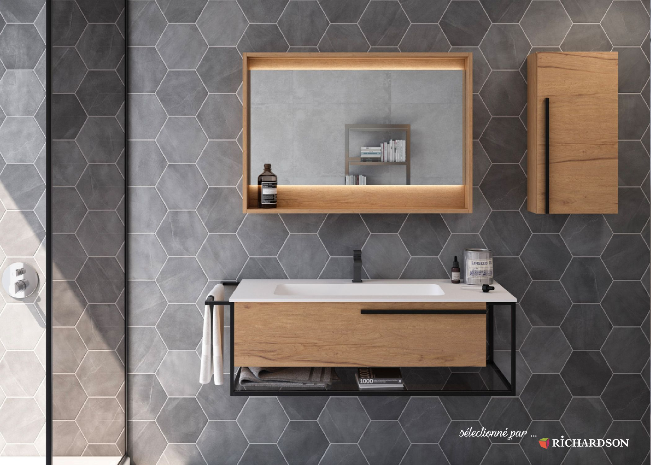 Meuble De Salle De Bains Single Vanity Bathroom Vanity