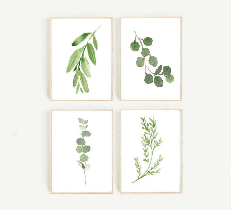 Free Watercolor Botanical Printables Free Printable Friday