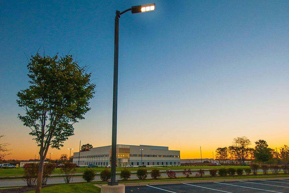 Outdoor Site Lighting Retrofit Using Led Parking Lot