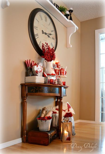 valentine kitchen display | Пасха сервировка просто красивое
