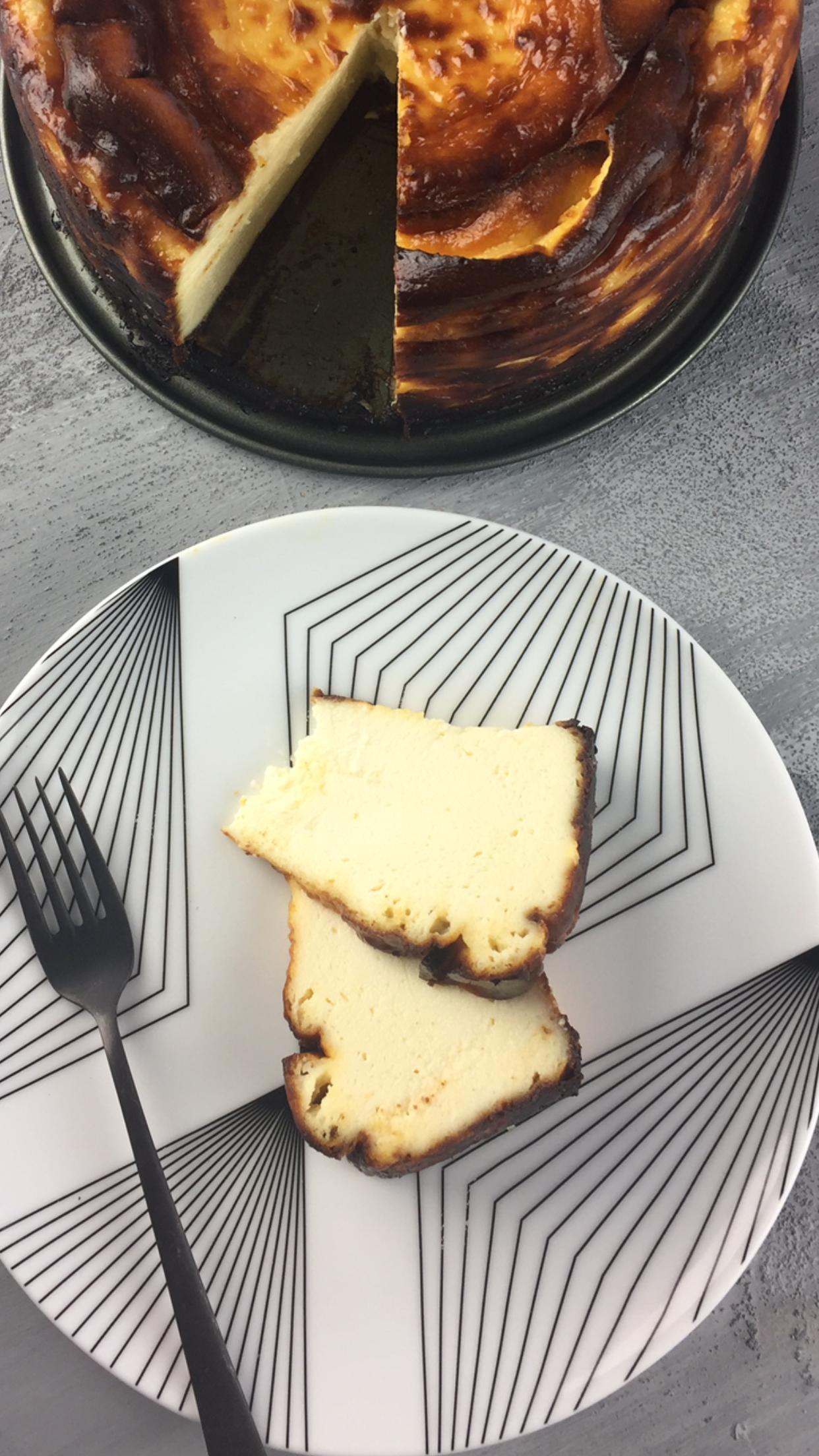 San Sebastian Cheesecake Her Yanmış Cheesecake Sansebastian Değildir