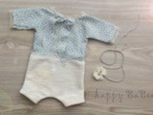 Newborn Set Body Haarband Prop Fotografie Taufe...