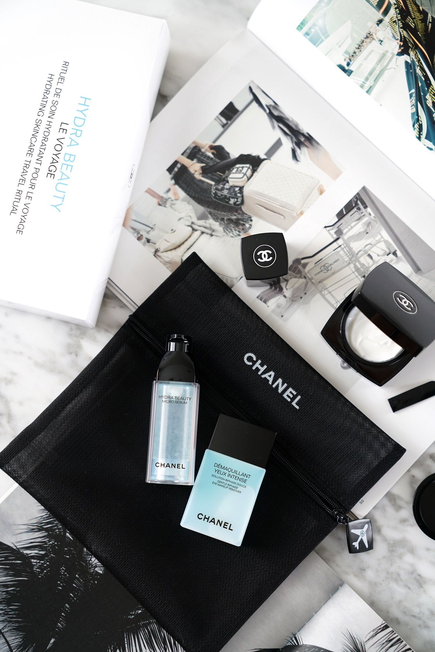 e3c5cdb943 Chanel Hydra Beauty Le Voyage Set Review | The Beauty Look Book ...