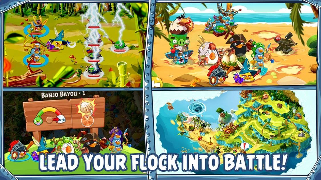 Angry Birds Epic for Android Apk free download Android
