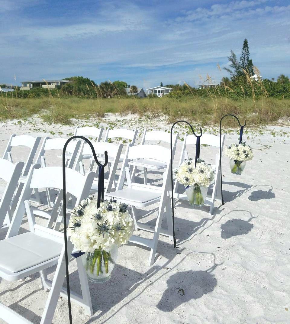 Siesta Key Beach Wedding Ceremony: Pin By Scarlett's Flowers On Scarlett's Beach Weddings